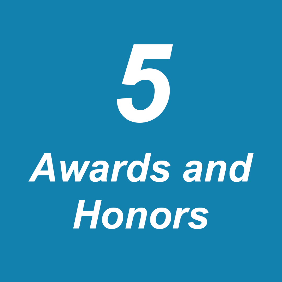 Awards and honors 1-1